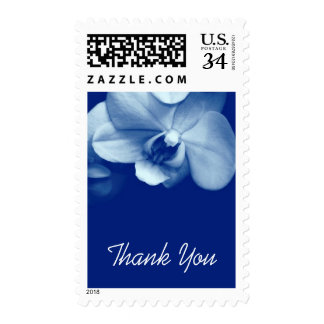 Floral Orchid 6 Sympathy Thank You Postage