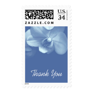 Floral Orchid 7 Sympathy Thank You Postage