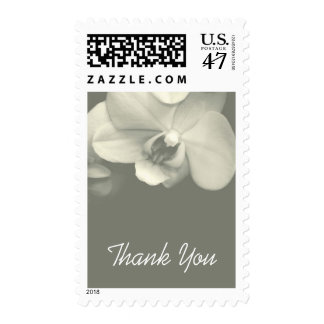 Floral Orchid 8 Sympathy Thank You Postage