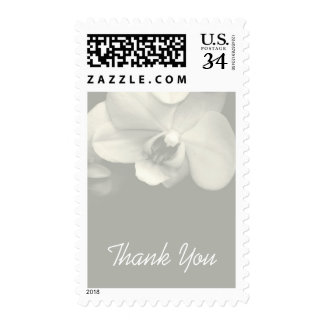 Floral Orchid 9 Sympathy Thank You Postage