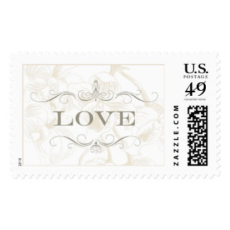 Floral Orchid Love | Atelier Isabey Stamps
