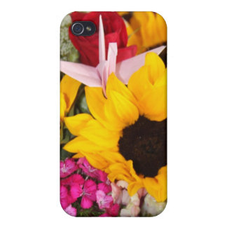 floral origami crane cases for iPhone 4