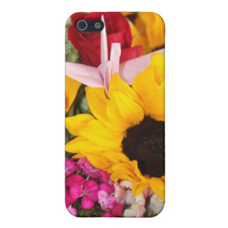 floral origami crane covers for iPhone 5