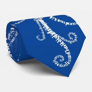 Floral ornament tie
