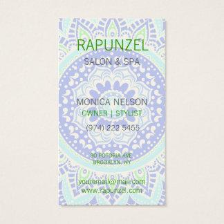 Floral Ornamental Business Card