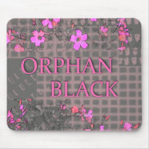 Floral Orphan Black-Alison edition Mouse Pad