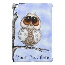 Floral Owl iPad/iPad Mini Case Cover For The iPad Mini