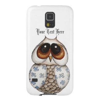 Floral Owl Samsung Galaxy S5 Case