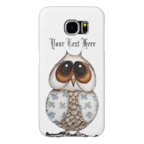 Floral Owl Samsung Galaxy S6 Case