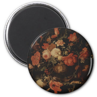Floral painting by Abraham Mignon Magnet