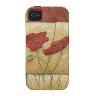 Floral Painting with Visible Brush Strokes Case-Mate iPhone 4 Covers