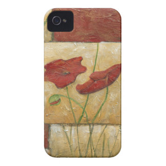 Floral Painting with Visible Brush Strokes iPhone 4 Case-Mate Case