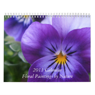Floral Paintings by Nature Calendar