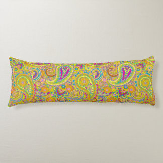 Floral Paisley seamless pattern I + your ideas Body Pillow