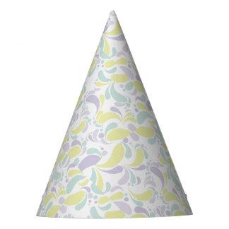 Floral Pale Party Hat