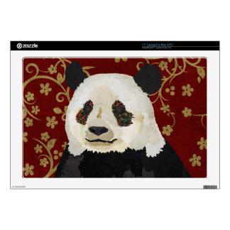 Floral Panda  Laptop Skin