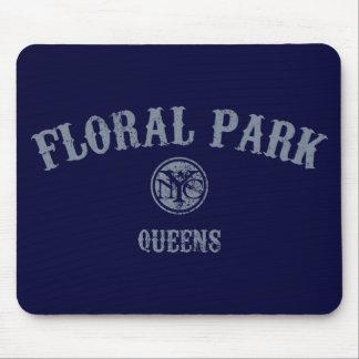 Floral Park Mouse Pad