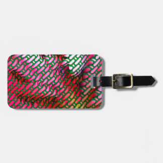 Floral Parren Luggage Tag