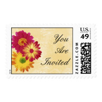 Floral Party Postage
