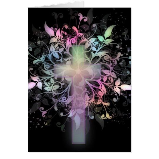 Floral Pastel Card