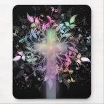 Floral Pastel Mouse Pad