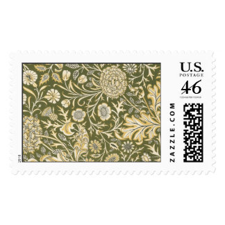 Floral Pattern 12 Stamps