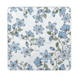 Floral pattern 2 2 puzzle coaster