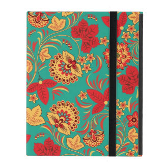 Floral pattern 2 iPad folio case