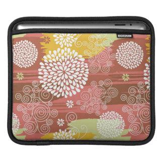 Floral pattern 2 iPad sleeve