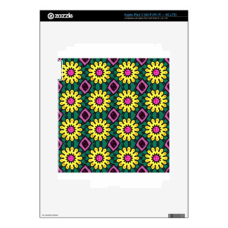 Floral Pattern #2 Skin For iPad 3