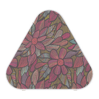Floral pattern 4 bluetooth speaker