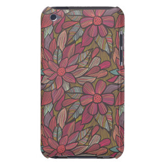 Floral pattern 4 iPod touch Case-Mate case