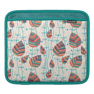 Floral pattern 5 iPad sleeve