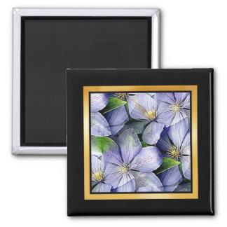 Floral Pattern Artwork or Photo Magnet