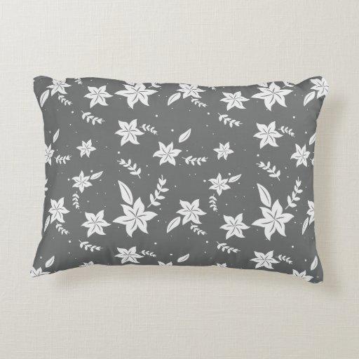Floral pattern bedding decor - Xmas gifts Decorative Pillow Zazzle