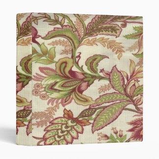 Floral Pattern Binder
