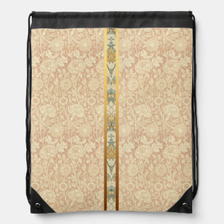 Floral Pattern by William Morris - Backpack