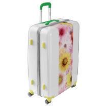 Floral Pattern Carry-On Luggage