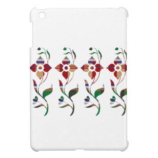 FLORAL Pattern : Creeper Flowers iPad Mini Cover