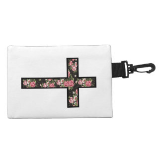 floral pattern cross accessory bags