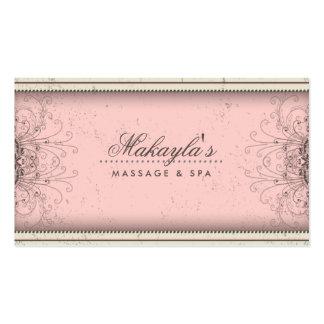 Floral Pattern Damask Elegant Modern Classy Retro Business Card Templates
