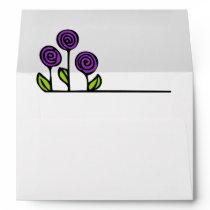 Floral Pattern Envelope