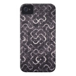 Floral pattern flowers abstract pink girl iPhone 4 cover