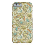 Floral pattern: flowers and butterflies barely there iPhone 6 case
