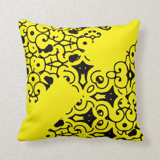 Floral pattern for Polyester Throw Pillow