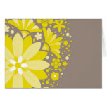 Floral Pattern Greeting Card