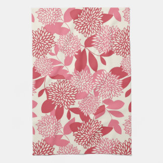 Floral Pattern Hand Towel