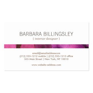 FLORAL PATTERN I for Interior Designer, Decorator Double-Sided Standard Business Cards (Pack Of 100)