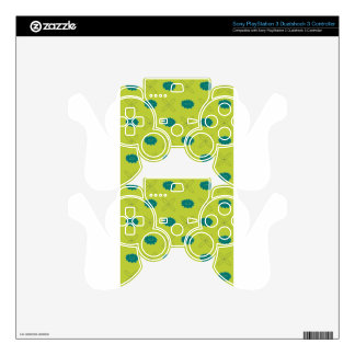 Floral pattern II PS3 Controller Decals