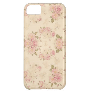 floral pattern iPhone 5C cover